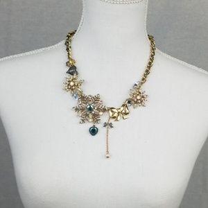 Betsey Johnson  winter necklace.